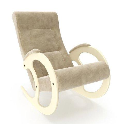 Кресло-качалка Комфорт Модель 3 дуб шампань/Verona Vanilla