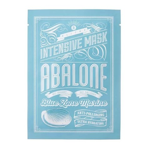 Blithe Маска тканевая с экстрактом морского моллюска Blue Zone Marine Intensive Mask Abalone, 1 шт