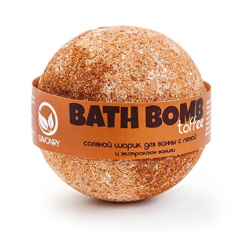 Бурлящий шарик с пеной для ванны Ваниль и Сливки | Savonry