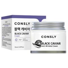 Consly - Крем для лица с экстрактом черной икры, 70мл