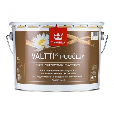 Tikkurila Valtti Puuoljy/Тиккурила Валтти Пуолъю масло для защиты древесины