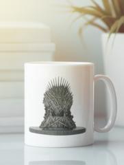 Кружка с рисунком Игра престолов (Game of Thrones) белая 0011