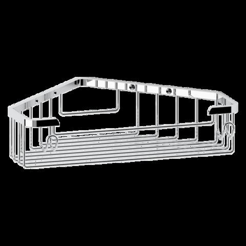 Полочка-решетка треугольная 23 см глубокая RYNA   RYN005 FBS