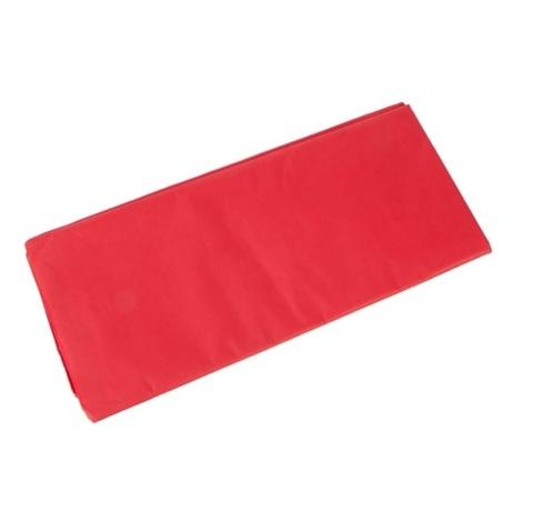 Бумага тишью 10 шт., 50x66 см, цвет: красный