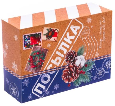 060-0127 Складная коробка «Посылка», 16 × 23 × 7.5 см