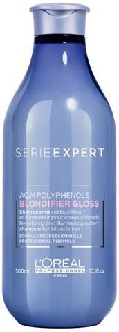 Шампунь для сияния волос Gloss, Loreal Blondifier, 300 мл.