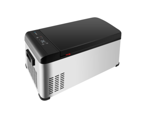 Компрессорный автохолодильник Libhof Q-18 (12V/24V, 110V/220V опционально, 17л)