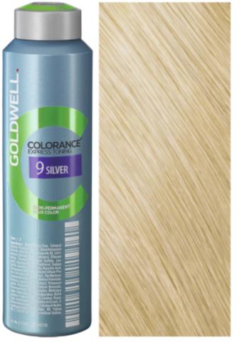 Goldwell Colorance 9 SILVER кристальный блонд 120 мл