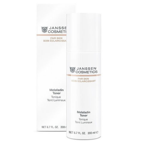 Janssen Fair Skin: Осветляющий тоник для лица (Melafadin Toner)