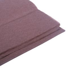 Бумага тишью коричневая 76 х 50 см, 10 листов 28 г/м