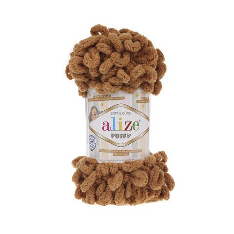 Купить Пряжа Alize Puffy Код цвета 179 Верблюд | Интернет-магазин пряжи «Пряха»