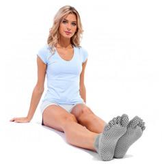 Противоскользящие носки для йоги
