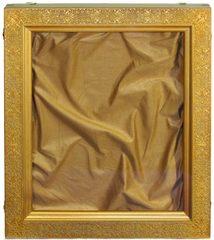 Киот из мореной березы для большой иконы с житийными клеймами размером 37х30см