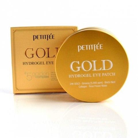 Petitfee Gold Hydrogel Eye Patch гидрогелевые патчи для глаз с золотом