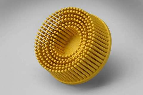 3M Scotch-Brite™ Roloc™ Bristle RD-ZB Круг, P80, желтый, 50 мм, № 07525