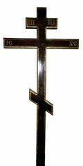 Крест большой лакированный