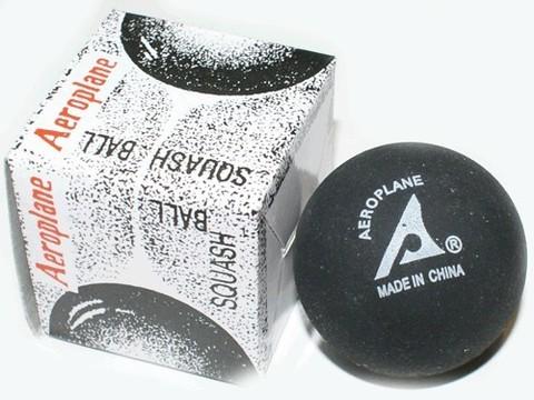 Мячик для игры в сквош. Красная точка - сильный отскок (средний) :(ABS-К):