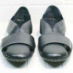 Мужские туфли босоножки кожаные Luciano Bellini 76389 Blue.