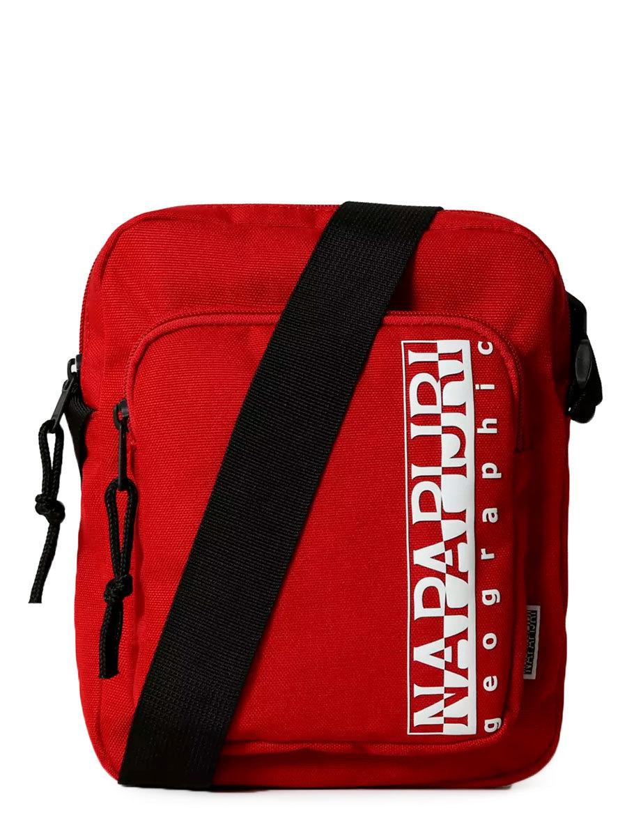 Napapijri сумка плечевая Happy Cross Pkt 2 красный