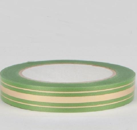 Лента золотая полоса Россия (размер: 2 см х 50 ярдов) Цвет: оливковый