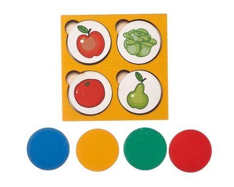 Запоминалки Овощи-фрукты, Smile decor