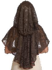 Церковный неспадающий платок