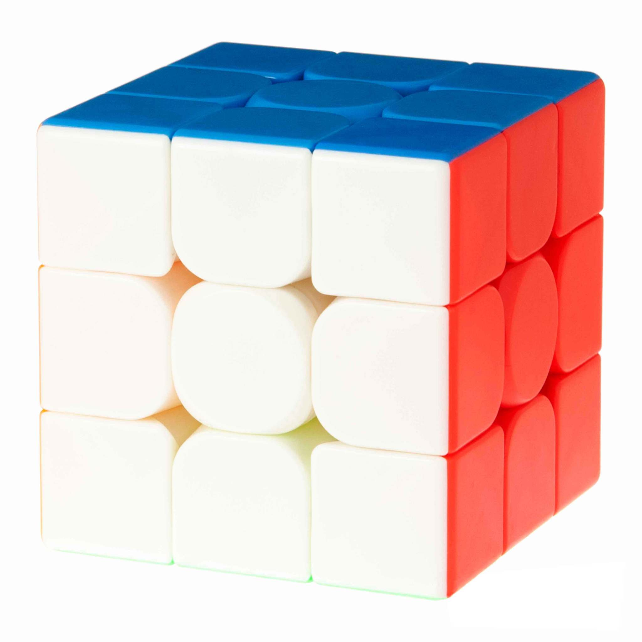 Скоростной кубик 3х3 цветной пластик