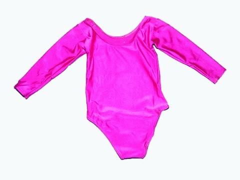 Купальник гимнастический. Состав: полиэстер. Размер XL. Цвет розовый. :(2014):