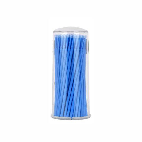 Микробраши для ресниц, цвет синий, 100шт