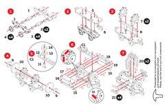 Вагончик с цистерной (UNIWOOD) - Миниатюрный деревянный конструктор, 3D пазл, сборная модель