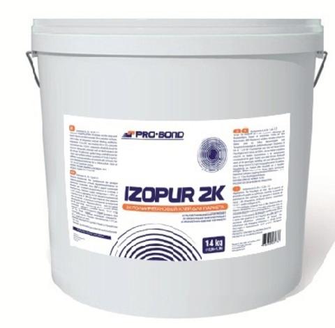 ProBond Izopur 2K, 14 кг (12,85+1,15) Высококачественный  двухкомпонентный эпоксидно - полиуретановый клей