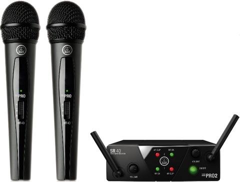 AKG WMS40 Mini2 Vocal Set BD US25A/B вокальная радиосистема