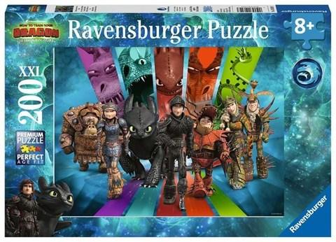 Puzzle DR: Dragon Rider de boule  200 pcs