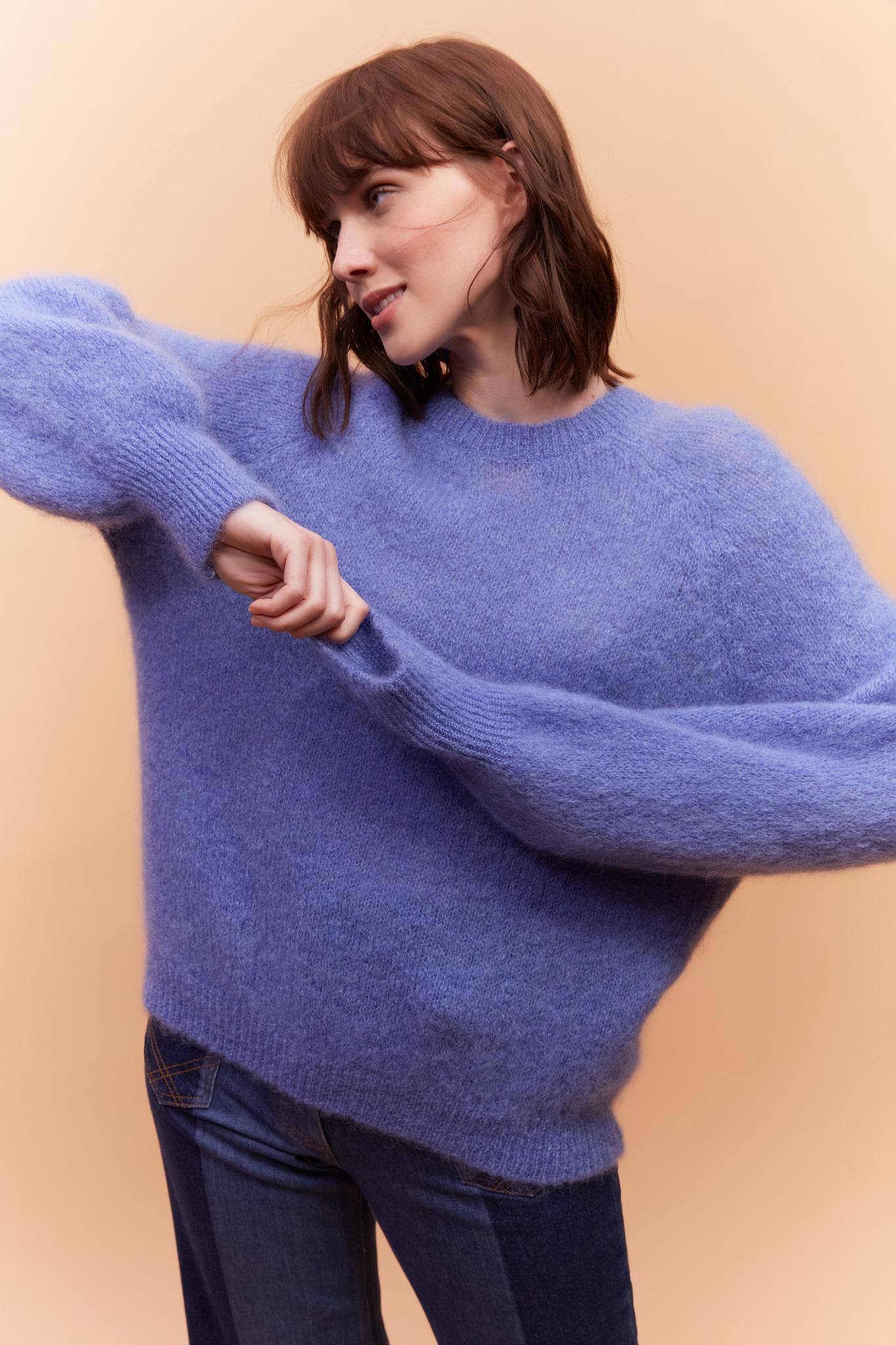 LEONIE - Мягкий мохеровый свитер