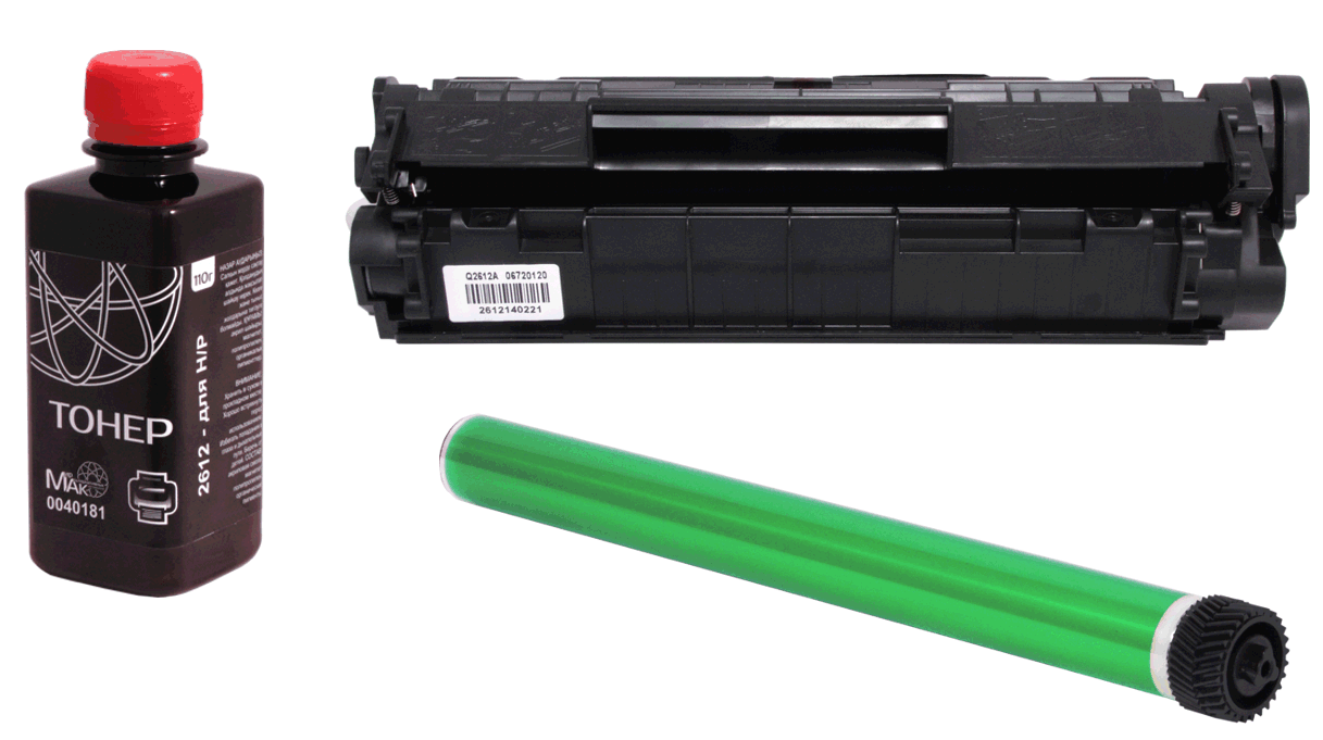 Заправка HP CF350A (№130A) черный / black (без стоимости чипа)