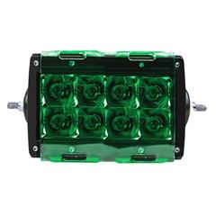"""Светофильтр фары Aurora 4"""" зеленый ALO-AC4DG"""