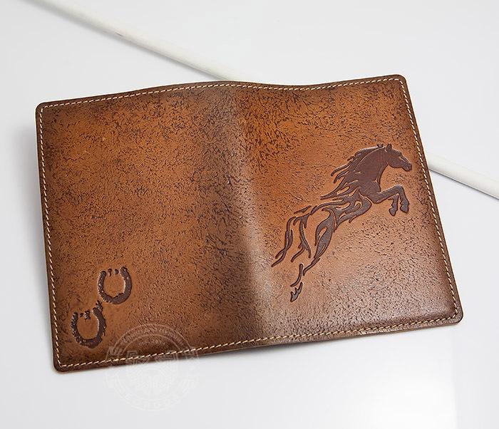 BY14-09-08 Оригинальная обложка для паспорта «Огненный Конь» фото 03