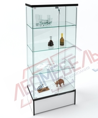 Вк-700-П Витрина стеклянная с подиумом