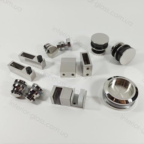 Раздвижная душевая система ST-301-3 PSS цинк + нержавеющая сталь
