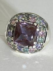 Милан (кольцо  из серебра)