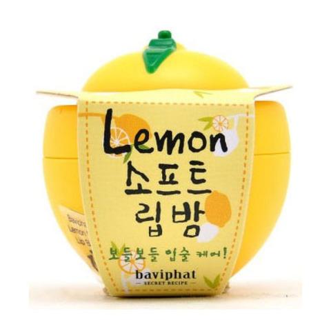 BAVIPHAT (URBAN DOLLKISS) Lip Бальзам для губ лимон Lemon Soft Lip Balm 6гр