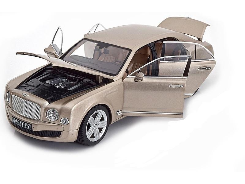 Коллекционная модель Bentley Mulsanne 2010 Pearl Silver