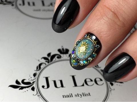 Камни искусственные для дизайна ногтей #4