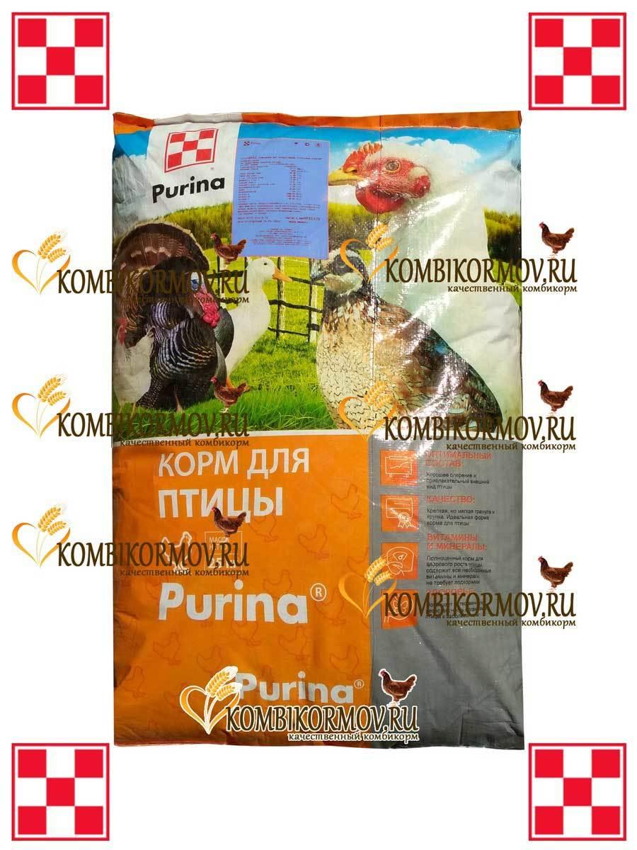 Комбикорм Purina для молодняка кур-несушек 6-19 нед. (ПК-4)