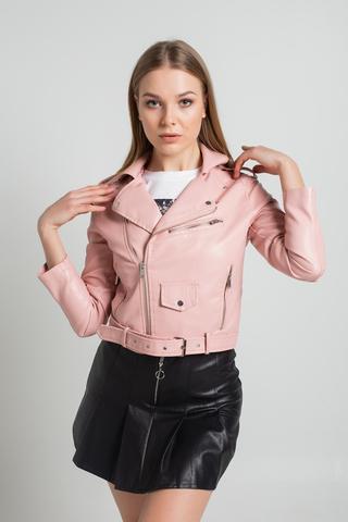 Куртка косуха из кожзама короткая купить