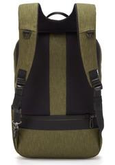 Рюкзак антивор Pacsafe Metrosafe X ECO, зеленый, 20,5 л. - 2