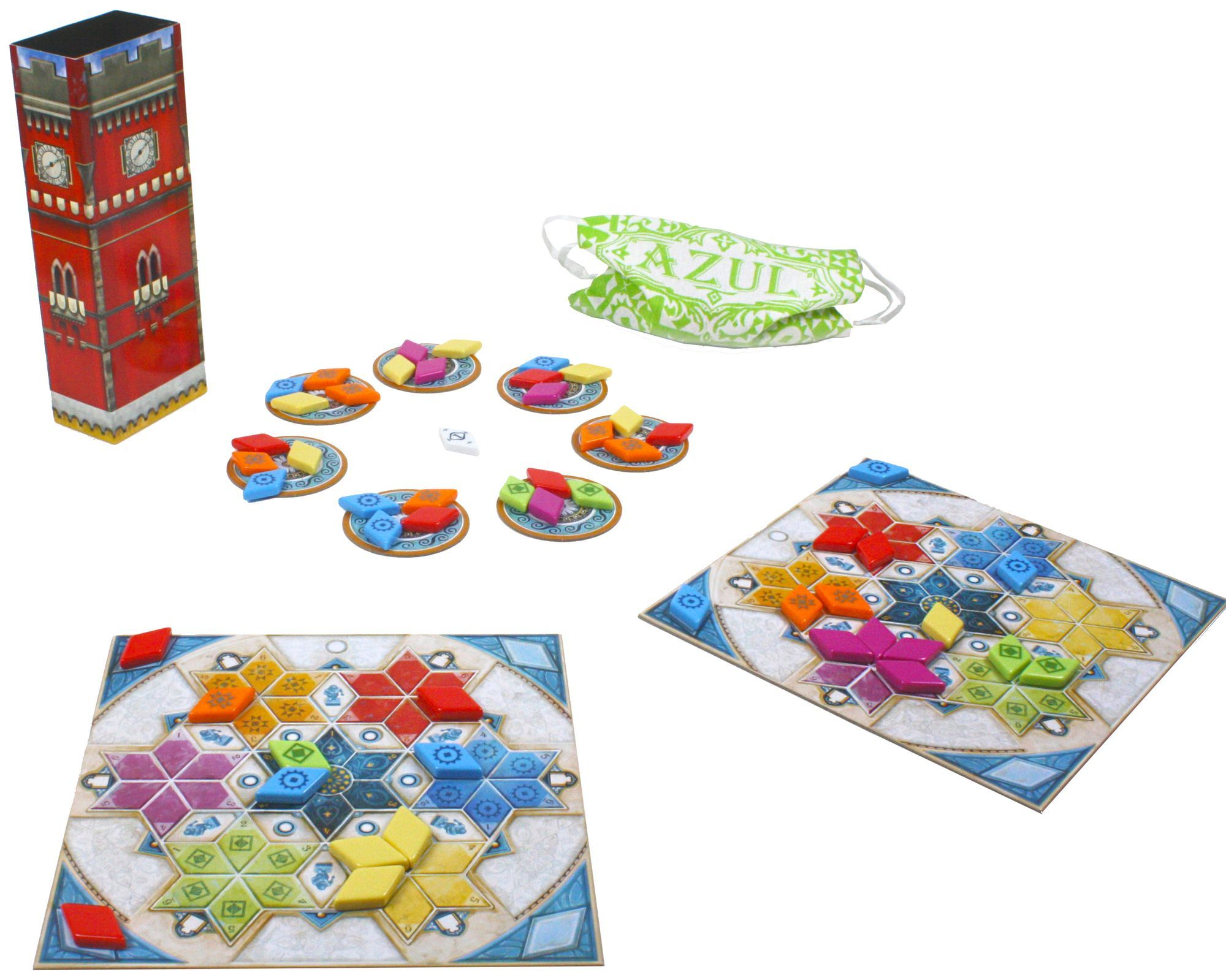 Настольная игра Azul. Летний дворец