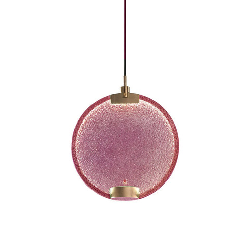 Подвесной светильник Horo by Masiero (розовый)