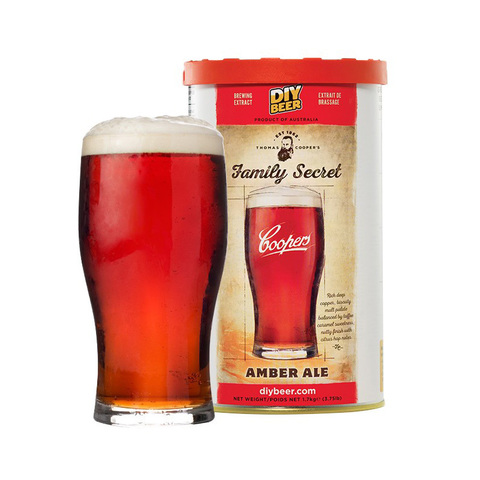 Экстракт Thomas Coopers Family Secret Amber Ale