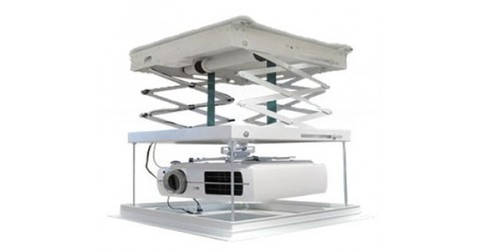 Моторизованный потолочный лифт для проектора с пультом ДУ 2м 200см